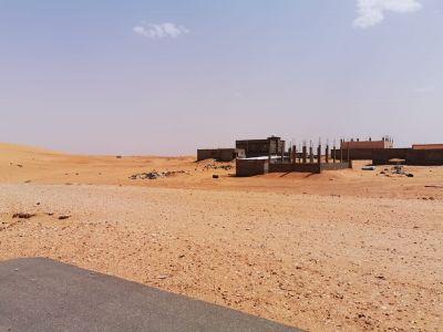 معاناة  مالكي اراضي مخطط العزيزية بمركز ميقوع