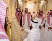 أمير الجوف يستقبل المهنئين بعيد الفطر من منسوبي إمارة المنطقة