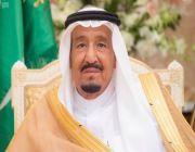 قال : السعودية تؤكد موقفها الثابت في محاربة الإرهاب والتطرف واجتثاثه بكافة أشكاله وصوره