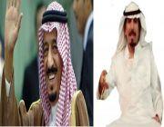 بمناسبة زيارة الملك سلمان بن عبد العزير ال سعود عبر الشاعر حمود مقبل الشتيوي بهاذه الابيات