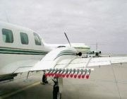 """الأرصاد"""" توضح حقيقة الصور المتداولة حول """"طائرة"""" تفريق السحب"""