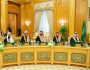 خادم الحرمين الشريفين يرأس جلسة مجلس الوزراء إضافة ثالثة وأخيرة
