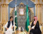 """رئيس وزراء باكستان: ولي العهد يسعى لـ """"عصرنة"""" المملكة .. وشعبنا يترقب زيارته"""
