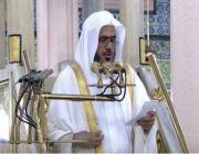 إمام المسجد النبوي: المسلمون في المسجد تتصافح أيديهم وتتآلف قلوبهم