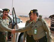 مدير جوازات الرياض يتفقد الخدمات المقدمة لزوار مهرجان الملك عبد العزيز للإبل