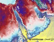 #الطقس توقَّع أن تسجِّل #تبوك و #الشمالية و #حائل و #الجوف #دون#الصفر المئوي وتكوُّن الصقيع