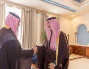 الأمير فيصل بن نواف يستقبل مدير هيئة حقوق الإنسان ب#الجوف