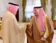 الأمير فيصل بن بندر يستقبل رئيس الهيئة الملكية للجبيل وينبع