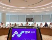 الرئيس التنفيذي لهيئة الإعلام المرئي والمسموع يعقد اجتماعاً مع المدير التنفيذي للشؤون الإعلامية بالمجلس الوطني للإعلام الإماراتي