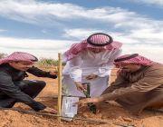 أمير الجوف يزور الشركات الزراعية ببسيطاء