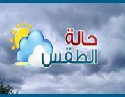 حالة #الطقس المتوقعة اليوم الأربعاء