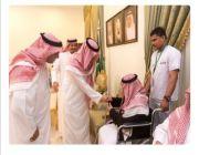 أمير الجوف يقيم مأدبة إفطار لنزلاء دار الرعاية وذوي الاحتياجات الخاصة والأيتام