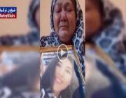 """شاهد.. """"سيعاقبك الله"""": أُم تبكي بحرقة بعد اصطحاب """"أردوغان"""" قاتل ابنتها في افتتاح """"آيا صوفيا"""""""