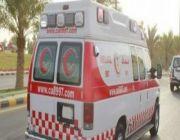 وفاة وإصابة 4 أشخاص في حادث مروري بالجوف