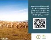 امانة منطقة الجوف تطلق خدمة الكترونية لإستقبال طلبات الحصول على تصريح بيع المواشي بسوق الانعام