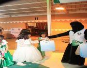فعاليات لجنة التنمية الاجتماعية بطبرجل بالشراكة مع البلدية بمناسبة اليوم الوطني ٩١