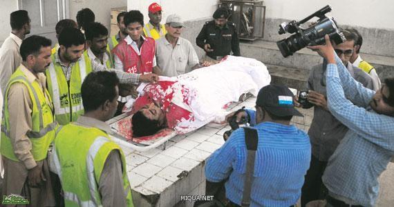 اغتيال الدبلوماسي السعودي حسن القحطاني في مدينة كراتشي